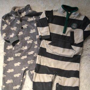 Carter's boys fleece outfits